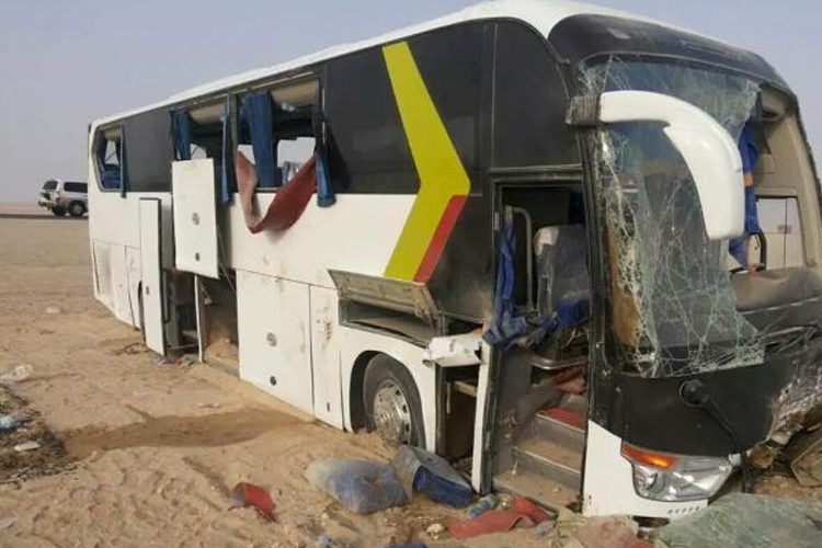 انقلاب حافلة يقتل ثلاث مسافرين بتيارت